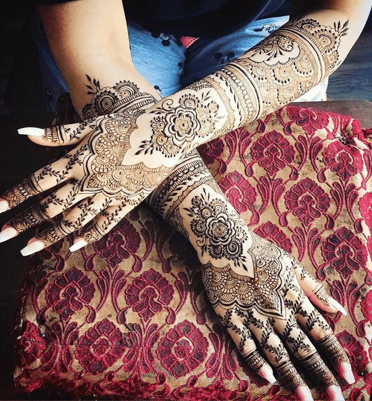 Adorable Agra Henna Design