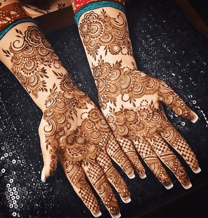 Angelic Agra Henna Design