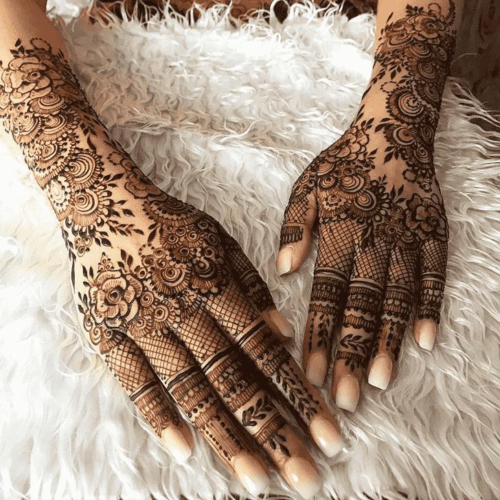 Appealing Agra Henna Design