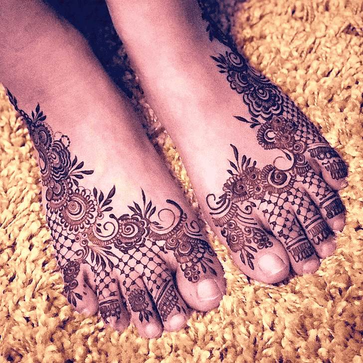 Beauteous Agra Henna Design