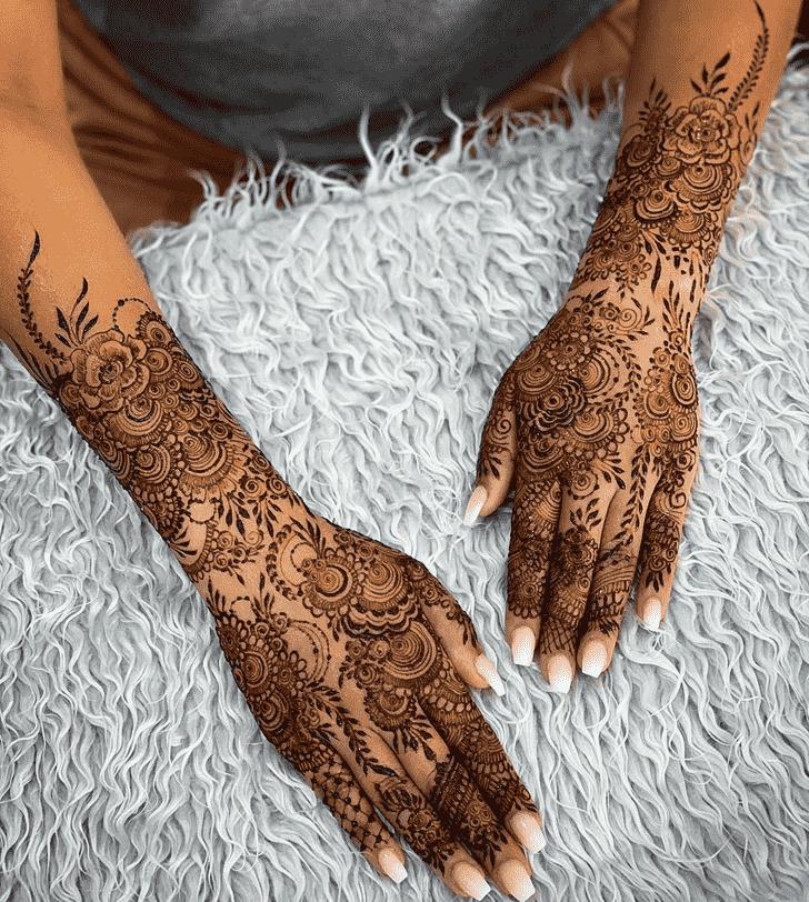 Fair Agra Henna Design