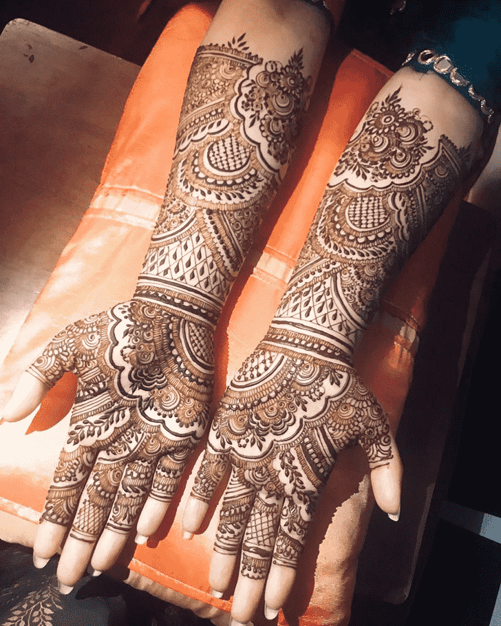 Grand Agra Henna Design