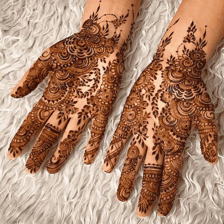 Awesome Agra Henna Design