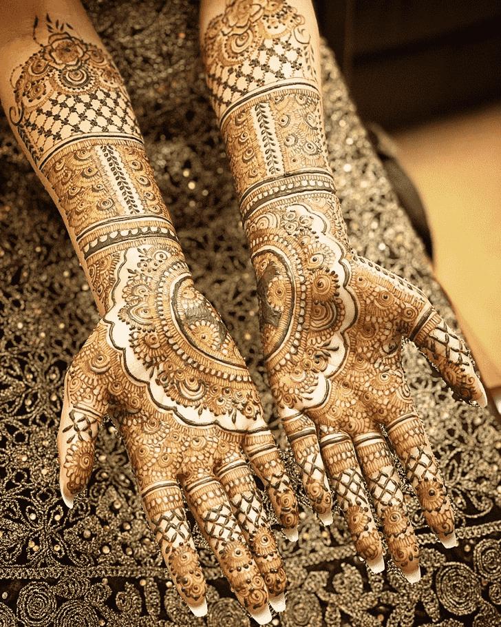 Pretty Agra Henna Design