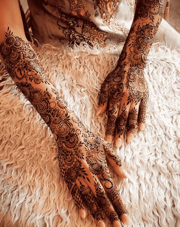Ravishing Agra Henna Design