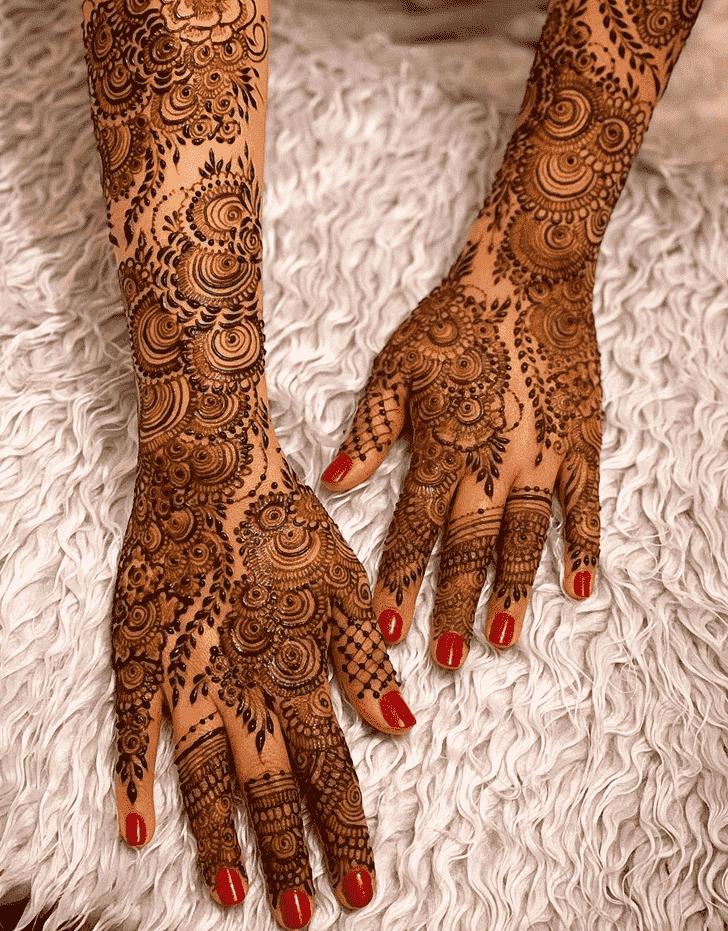 Slightly Agra Henna Design