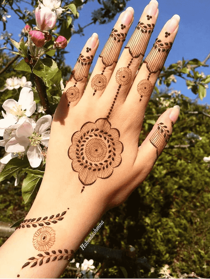 Alluring Ajman Henna Design