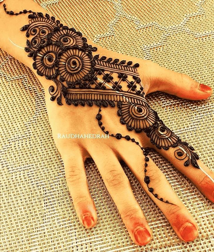Appealing Ajman Henna Design