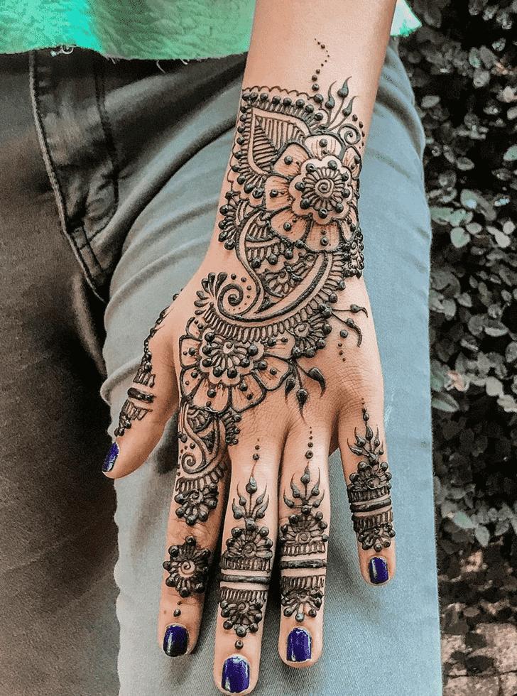 Angelic Al Ain Henna Design