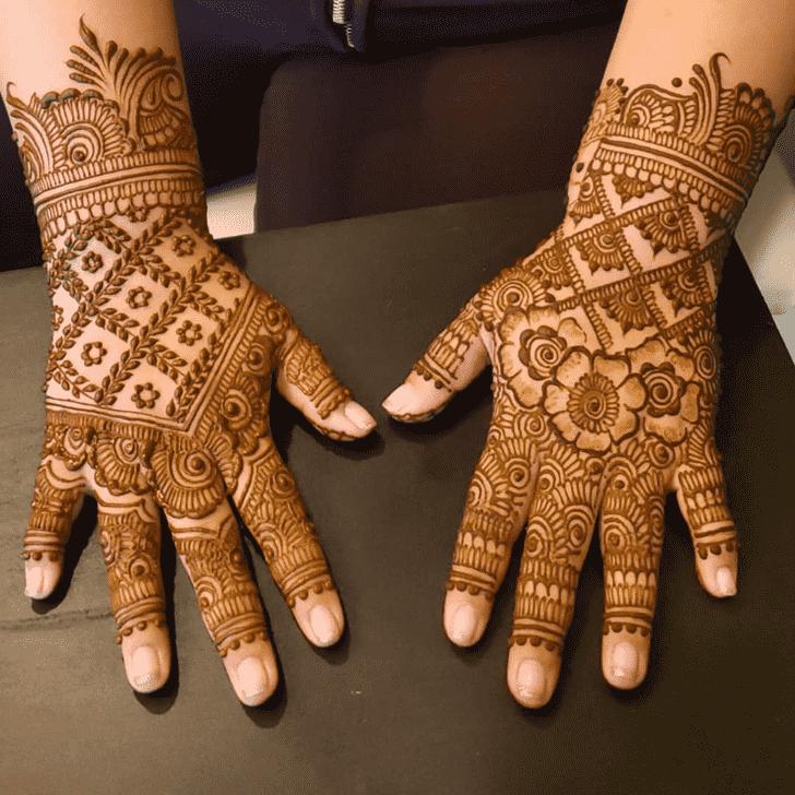 Comely Al Ain Henna Design