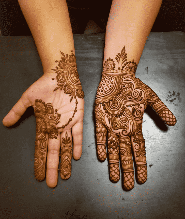 Awesome Al Ain Henna Design
