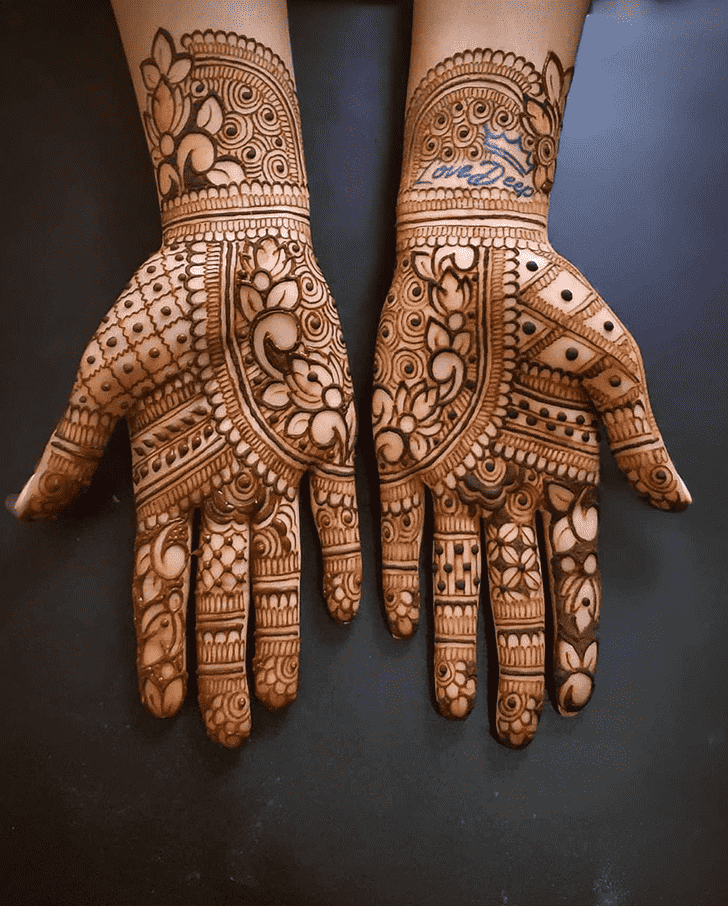 Radiant Al Ain Henna Design