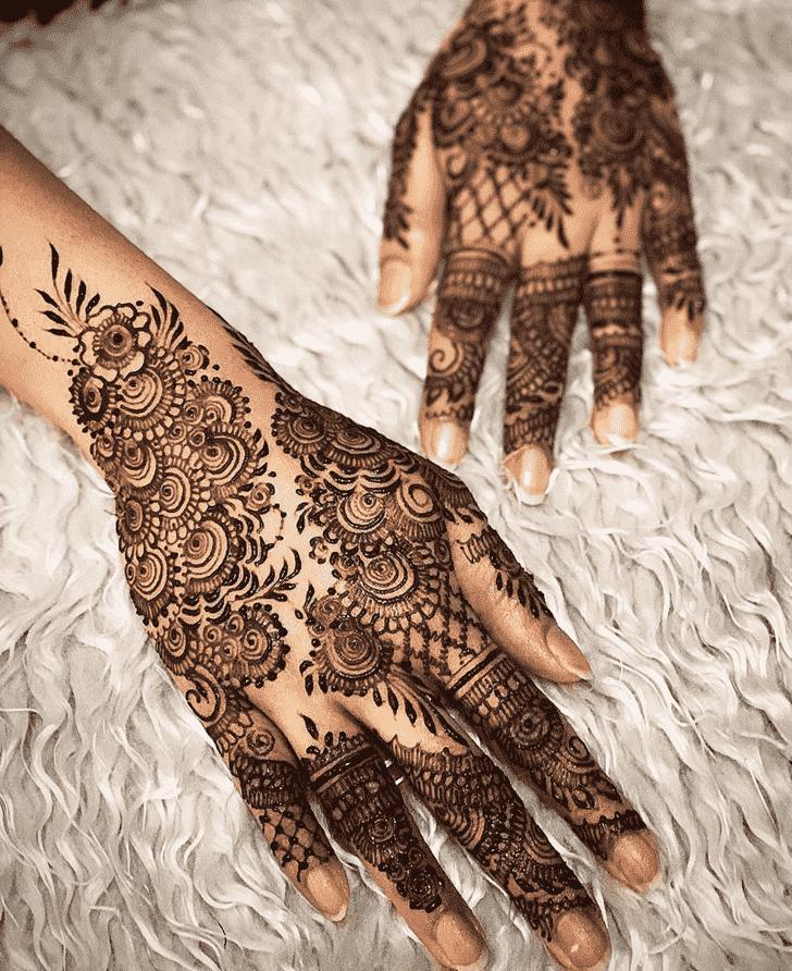 Appealing Allahabad Henna Design