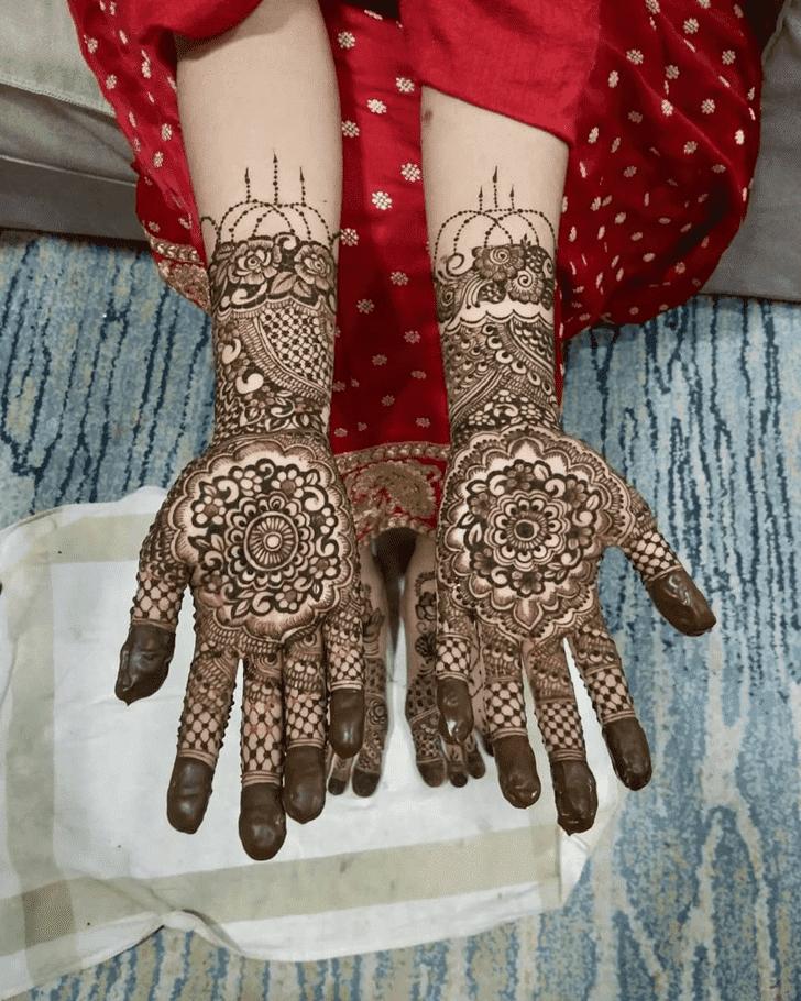 Admirable Amalaki Ekadashi Mehndi Design