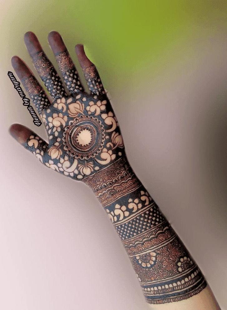 Angelic Amalaki Ekadashi Henna Design