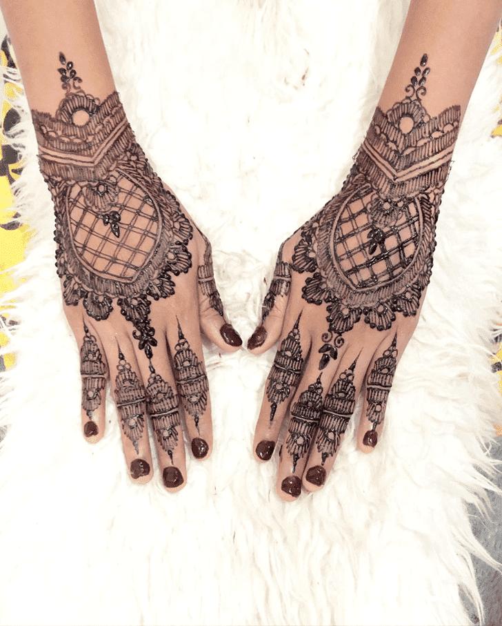 Bewitching Amalaki Ekadashi Henna Design