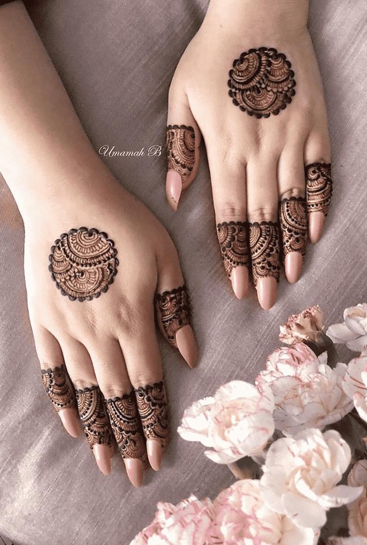 Classy American Henna Design