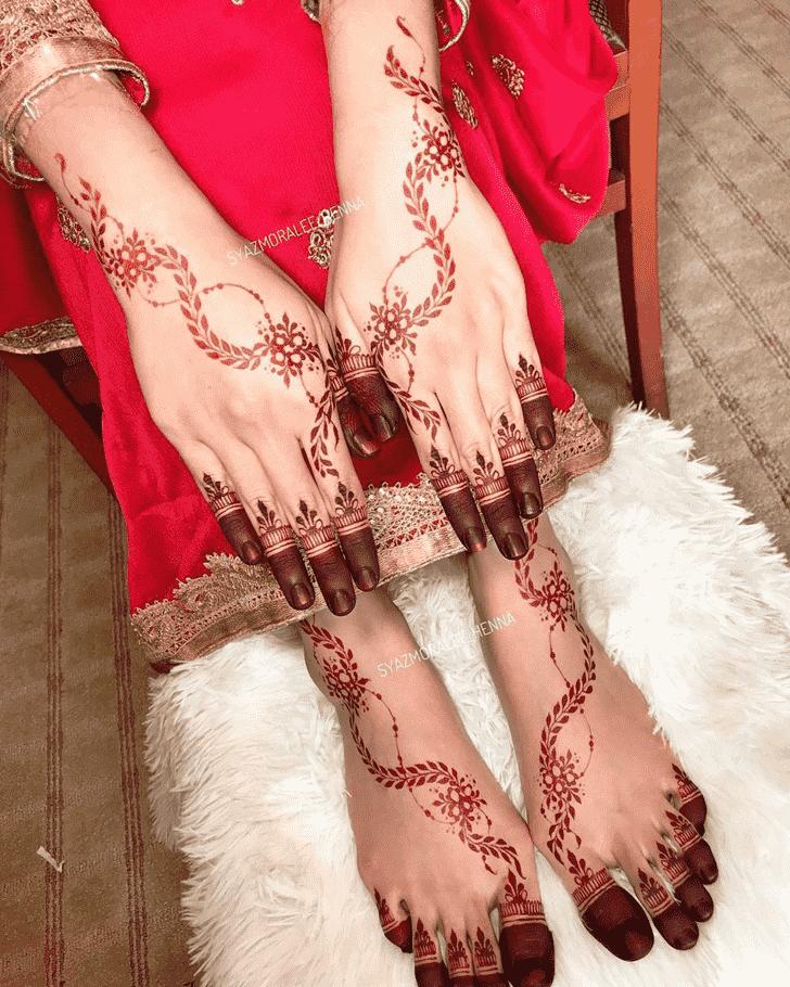 Angelic Amritsar Henna Design