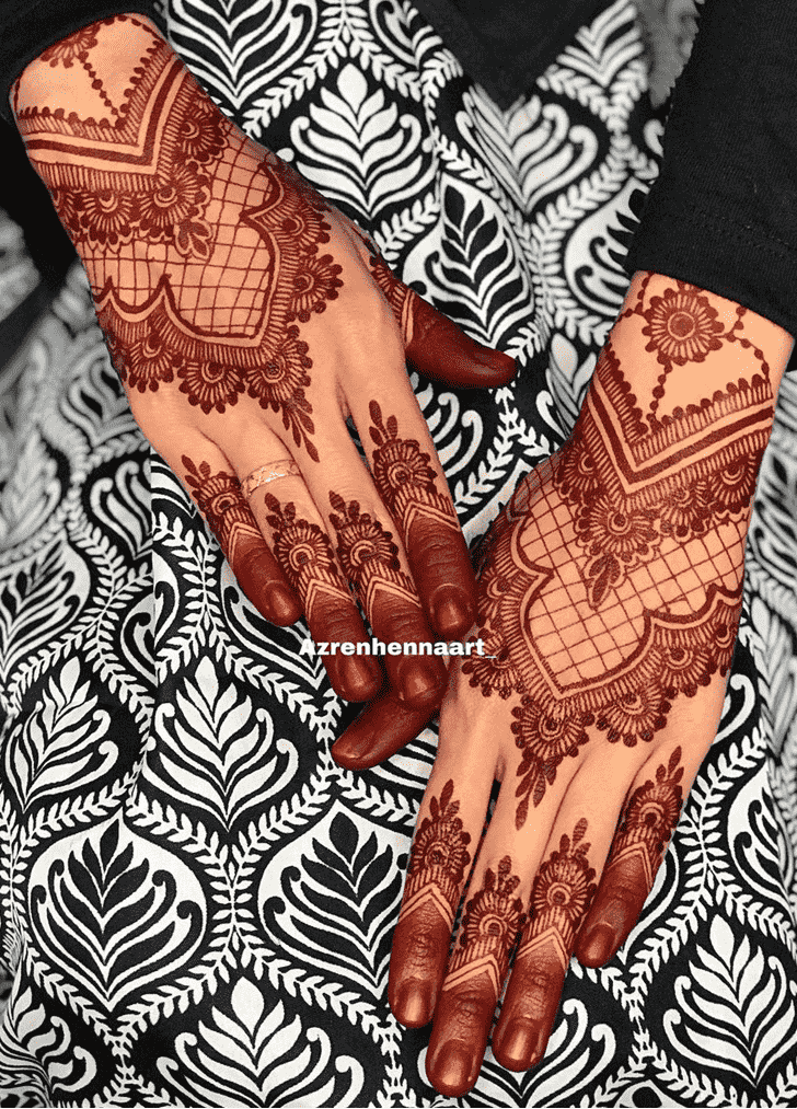 Charming Amsterdam Henna Design