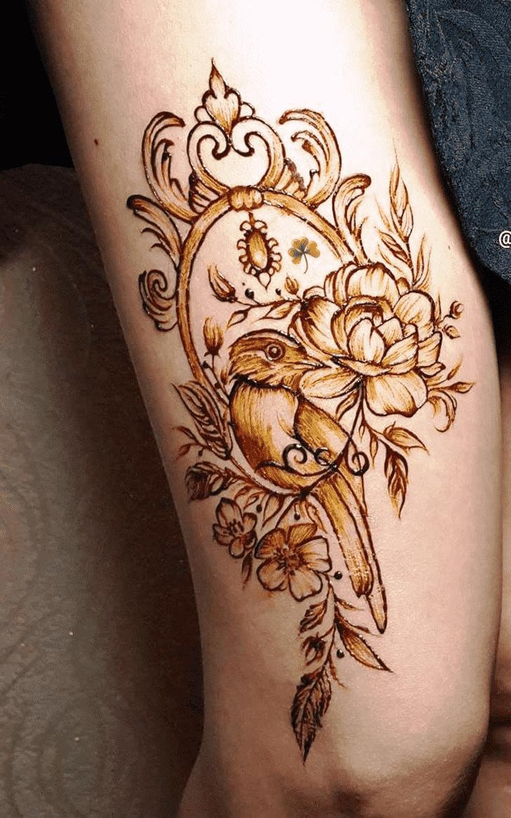 Bewitching Animal Henna Design