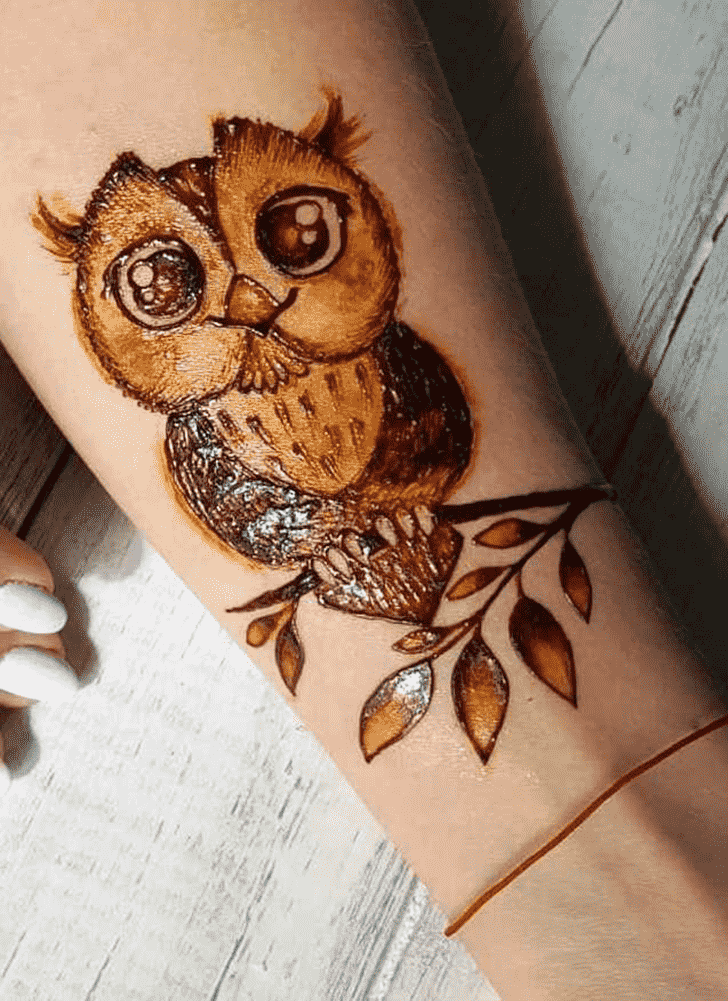 Classy Animal Henna Design