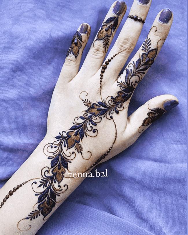 Adorable Aurangabad Henna Design