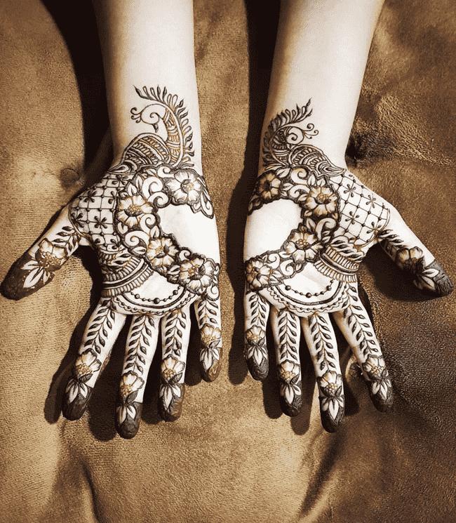 Alluring Aurangabad Henna Design