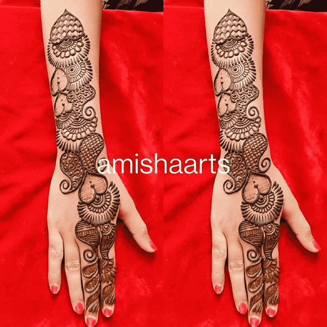 Angelic Aurangabad Henna Design