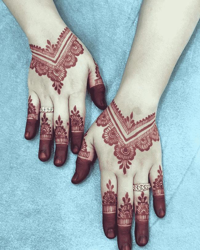 Beauteous Aurangabad Henna Design