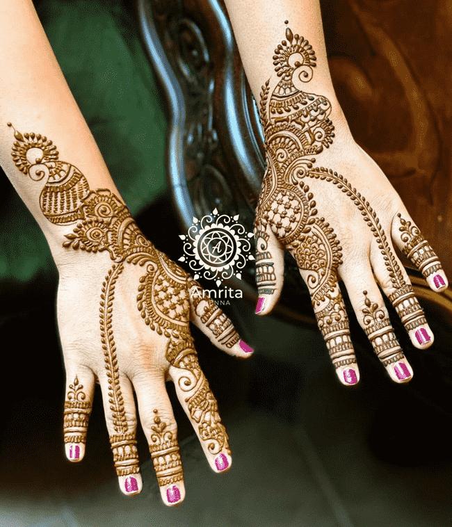 Bewitching Aurangabad Henna Design
