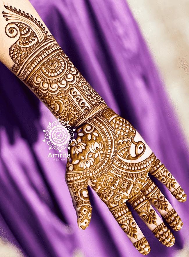 Charming Aurangabad Henna Design