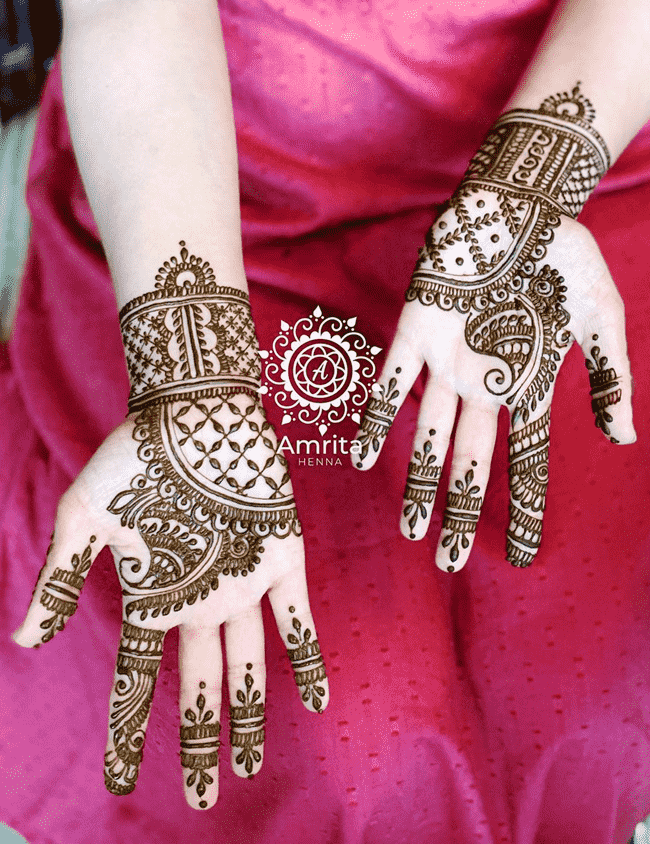 Classy Aurangabad Henna Design