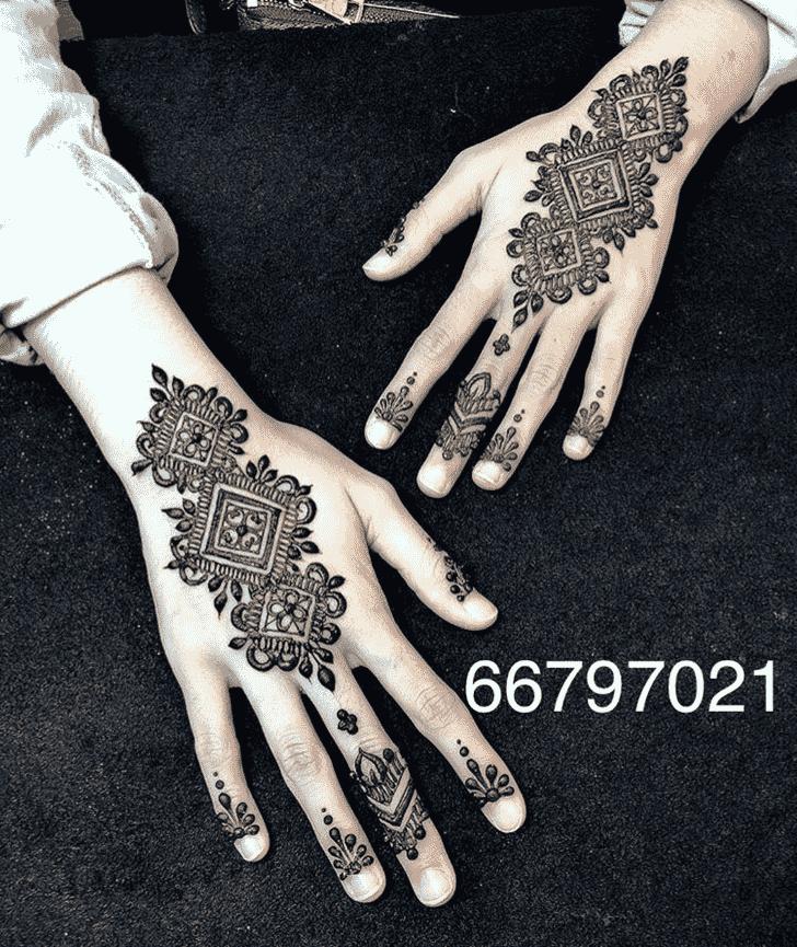 Alluring Australia Henna Design