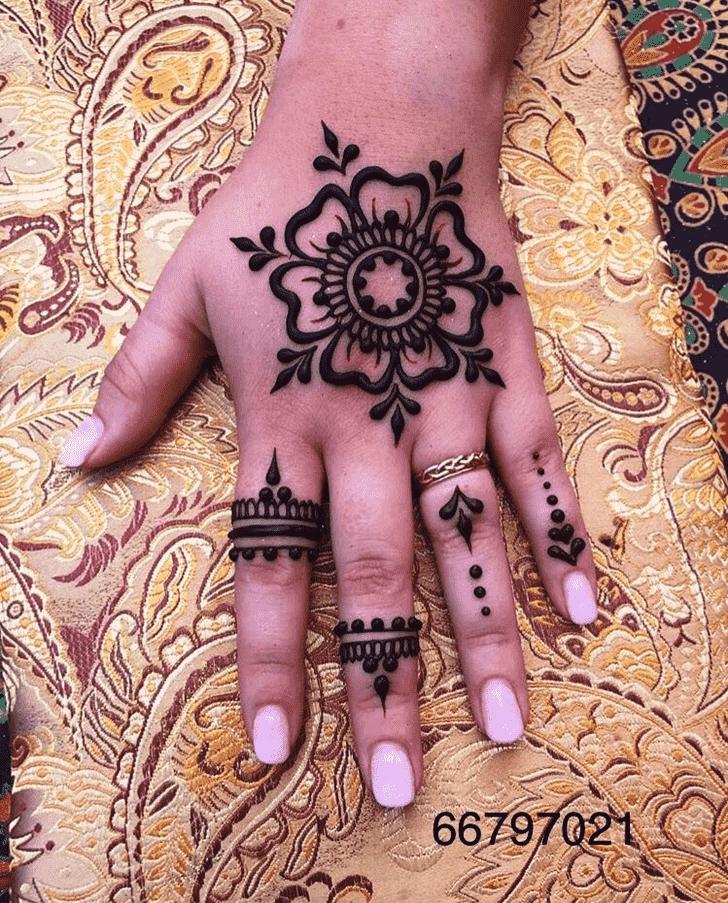 Captivating Australia Henna Design