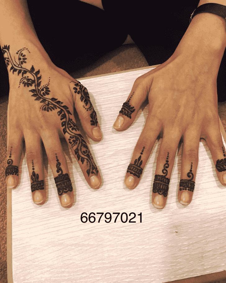 Charming Australia Henna Design