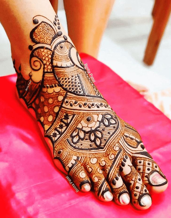 Appealing Austria Henna Design