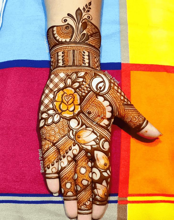 Beauteous Austria Henna Design