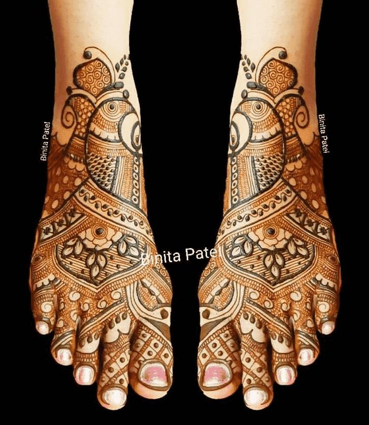 Bewitching Austria Henna Design