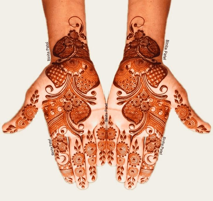 Captivating Austria Henna Design