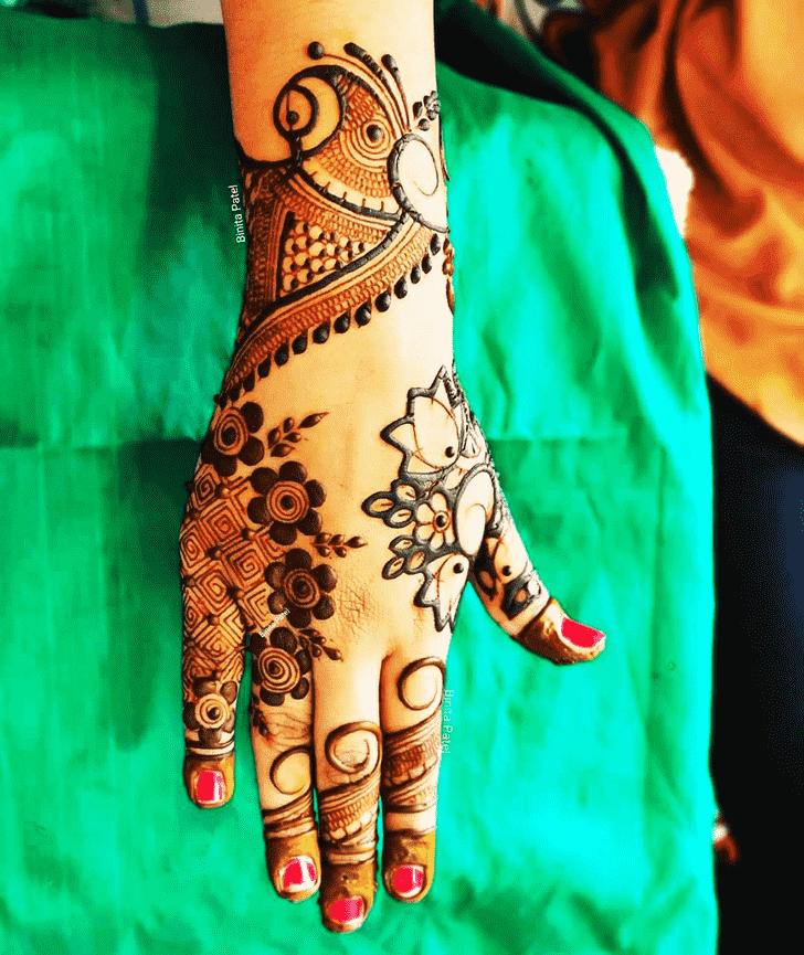 Charming Austria Henna Design
