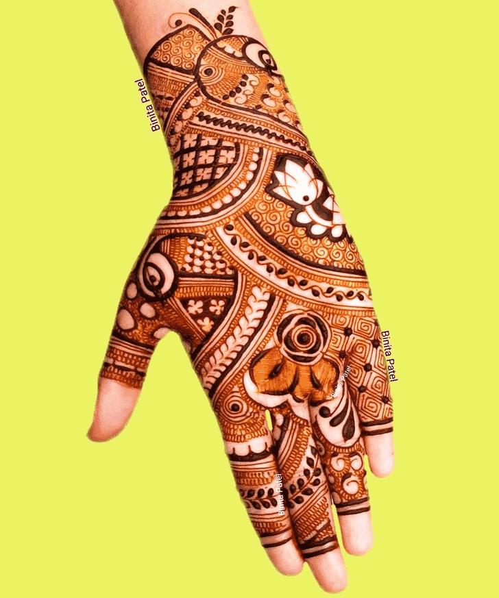 Dazzling Austria Henna Design