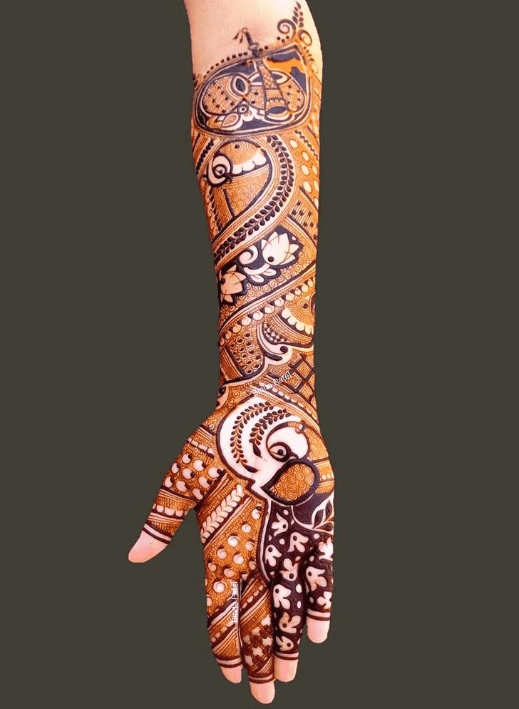 Elegant Austria Henna Design