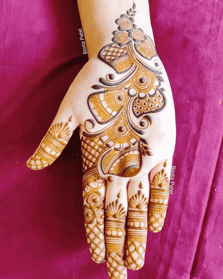 Magnetic Austria Henna Design