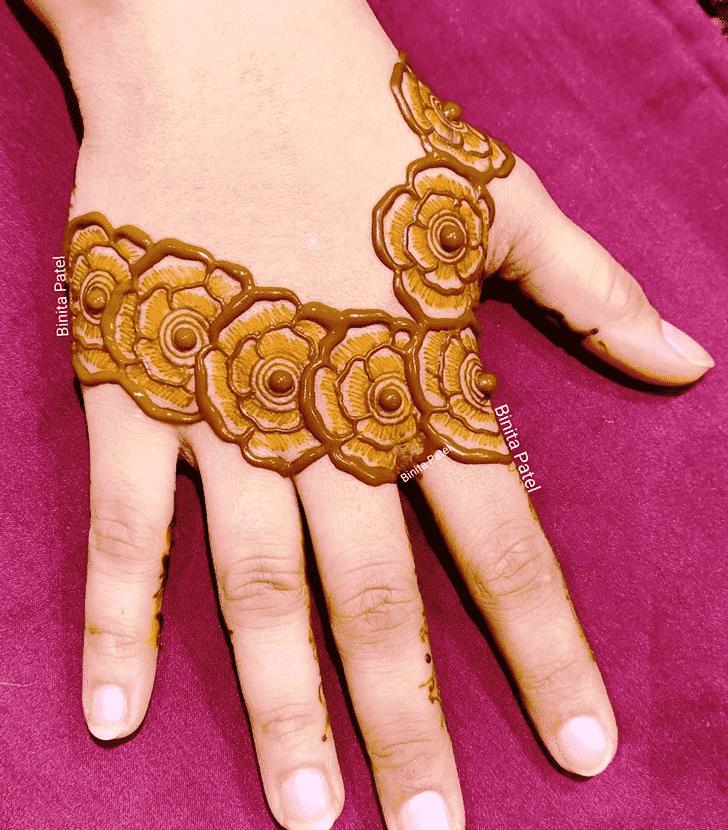 Magnificent Austria Henna Design