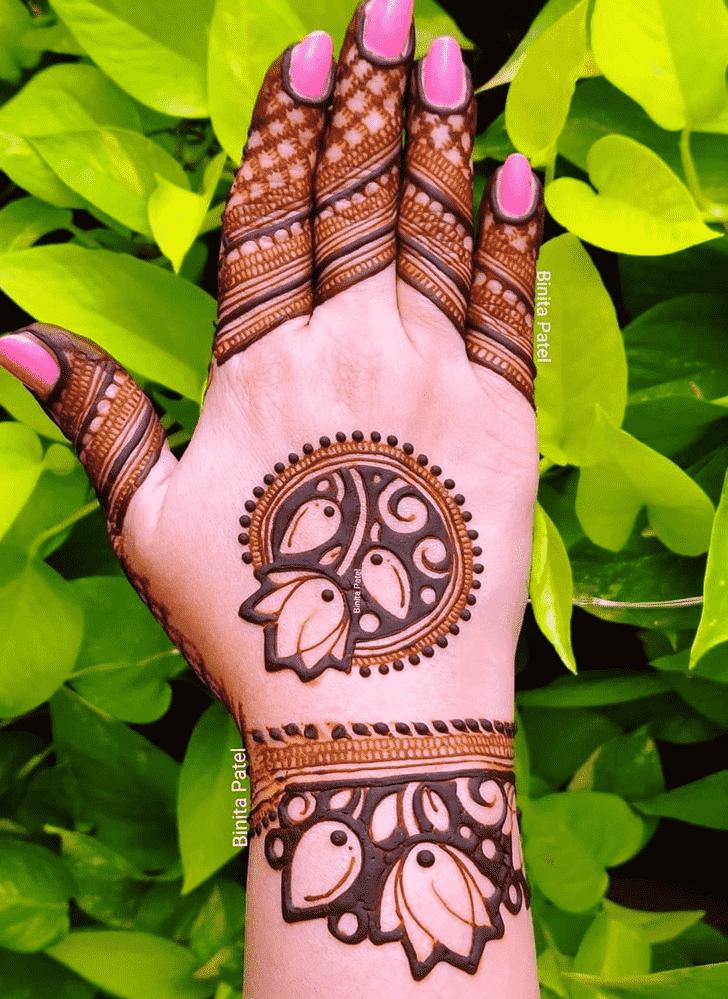 Pleasing Austria Henna Design