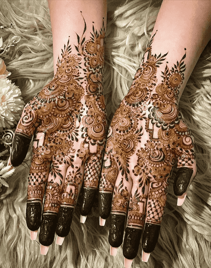 Wonderful Austria Mehndi Design