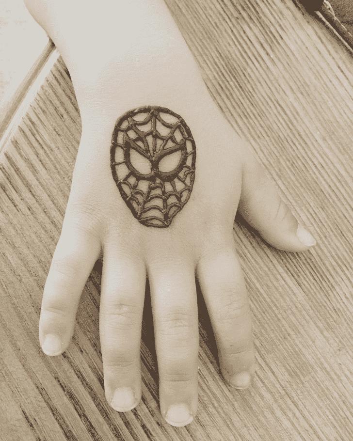 Excellent Avengers Henna Design