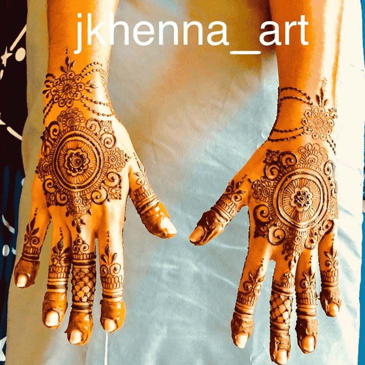 Captivating Badghis Henna Design
