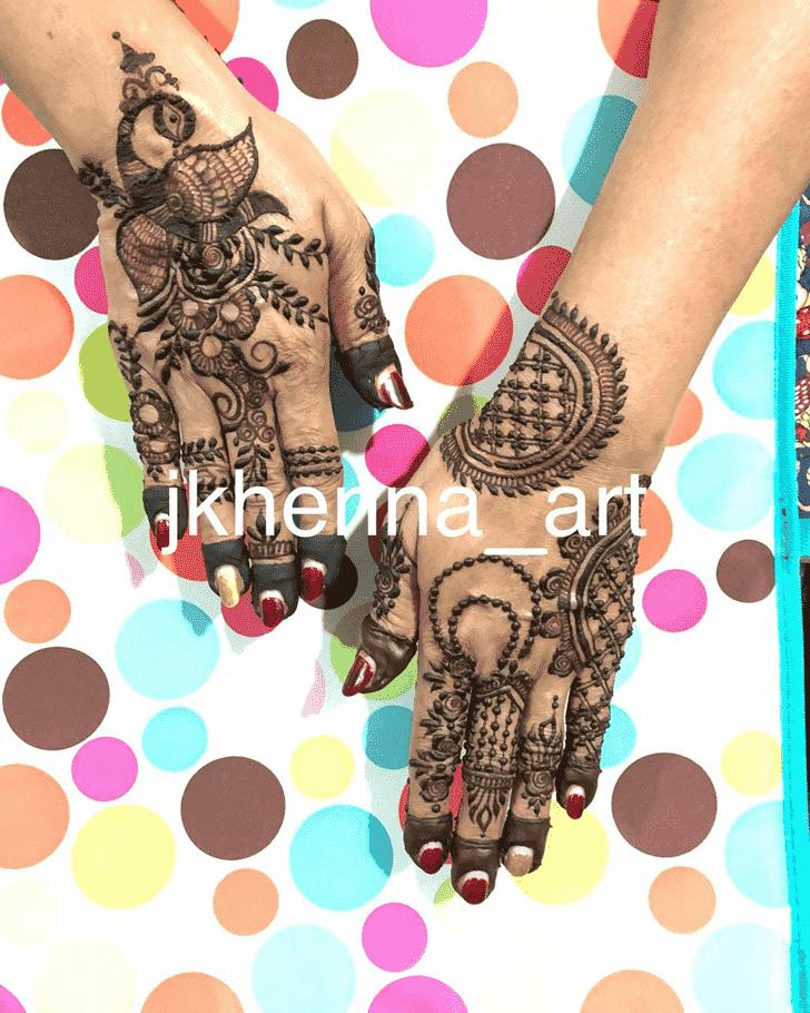 Arm Badghis Henna Design