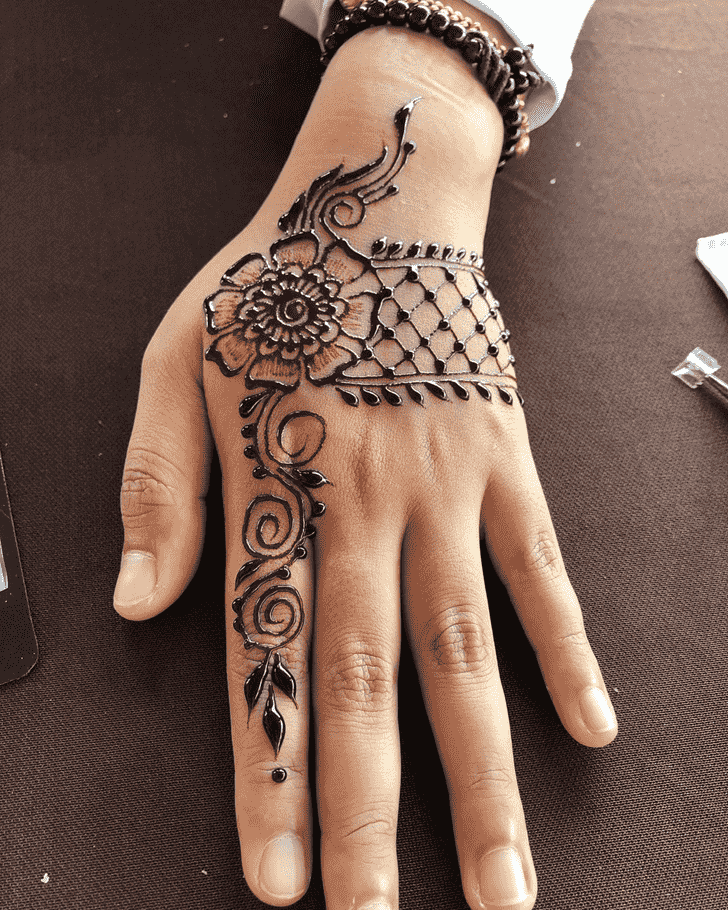 Fair Badghis Henna Design